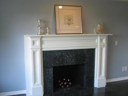 Painted Fireplaces Painting A Fireplace Surround White Best Painting 2018