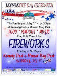 Edgewater Florida Map by Fireworks Celebration Edgewater Florida