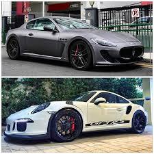 maserati gt vs porsche 911 the best supercars supercarsdetails one instagram