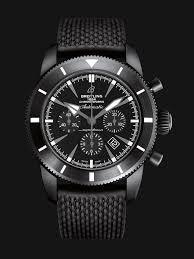 all black superocean héritage chronoworks breitling instruments for