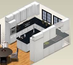 u shaped kitchen layout with island awesome small u shaped kitchen with island 1000 ideas about u
