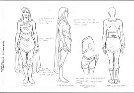 draw supergirl coloring pages gekimoe u2022 38679