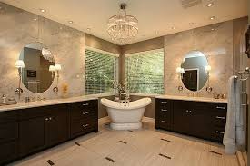 Bathroom With Two Separate Vanities by 17311 Center Court Cir Spring Tx 77379