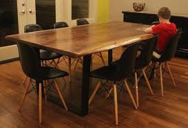 Acacia Wood Dining Table Solid Wood Dining Table Dining Room Industrial With Acacia Dining