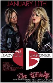 Blind Fury Album Janet Gardner The Voice Of Vixen Mycah Intensity Blind