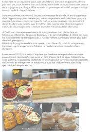 formation de cuisine pour adulte la sucrière centre de formation en pâtisserie formation continue