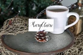 easy decor diy thanksgiving place card holders hm etc