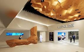 lexus dealer in qatar peia associati lexus showroom and offices doha peia associati