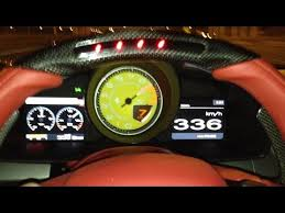 458 italia in dubai hitting a top speed of 336 kmph