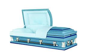 blue casket mckinley blue 20 steel casket east casket sales