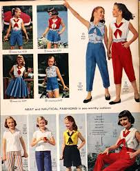 clothing from the 1958 summer sears catalog lower