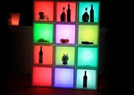 led lighted bar shelves plastic led lighted bar shelves back bar liquor display with