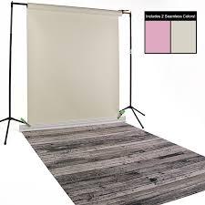 seamless backdrop bone coral antique pine seamless floordrop kit backdrop express