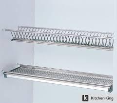 Plate Rack Kitchen Cabinet Kitchen Desaign 2 Tiers Wall Stainless Steel Cabinet Kitchen