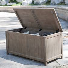 attractive patio deck box suncast extra large 103 gallon patio