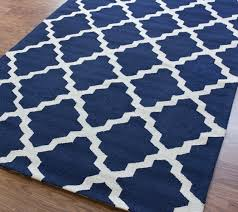 decor interior design with navy and white rugs for navy blue area
