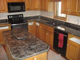 elegant grey granite countertops for better kitchen makeover grey granite countertop connected rectangle kitchen islands top and black microwave elegant