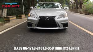 lexus es 350 rear bumper replacement exterior tuning lexus 2006 2012 es240 es350 bumper change to