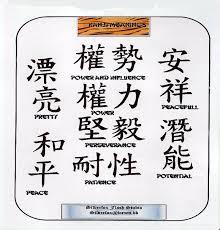arrogburo kanji tattoo designs