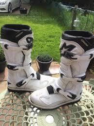 alpine motocross boots alpine stars tech 1 motocross boots uk size 9 in derby