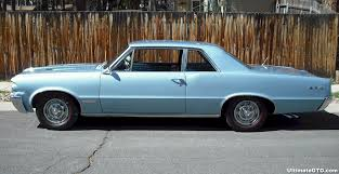 1964 pontiac gto color blue or silver
