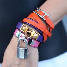 hermes bracelet leather images Hermes bracelet stacks lollipuff jpg