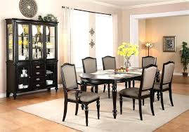Black Dining Room Sets Dining Sets With China Cabinet Dining Room Set With Hutch Complete