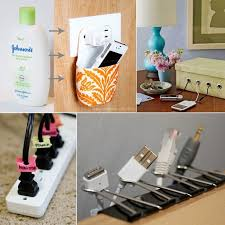 Diy Nightstand Charging Station 15 Cord Management Life Hacks For No More Tangled Wires