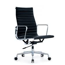 eames office thin high back chair replica full leather