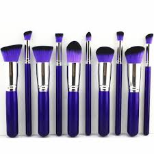 purple makeup brushes from ebay that make me feel gothic plus why