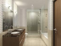 bathroom black and white tile paint color full modern design