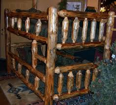 Log Bunk Beds Archives Woodland Creek Furniture - Log bunk beds