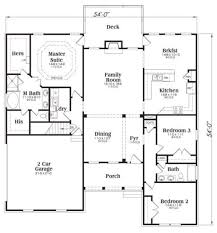 traditional style house plan 3 beds 2 00 baths 1960 sq ft plan