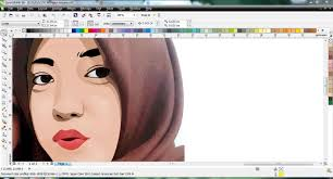 tutorial corel draw menggambar kartun coreldraw tutorials drawing face into cartoon youtube