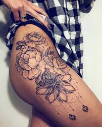 the 25 best small thigh tattoos ideas on pinterest everything