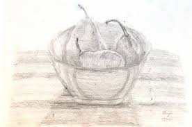 arty crafty studio how to make a painting step 1 tonal drawing