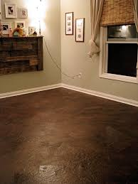 Diy Laminate Flooring On Concrete Flooring Diy Paper Bag Flooring On Concretebrown Floor Concrete