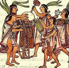 imagenes de familias aztecas características de los aztecas