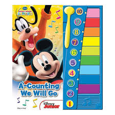 mickey mouse clubhouse xylophone book toys