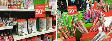 clearance christmas wrapping paper target after christmas clearance up to 50 great deals on oreos