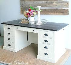 Gray Office Desk Gray Office Desk Best Modern Ideas On Table And Weathered Grey