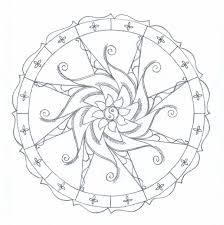 free printable mandala coloring pages coloring page