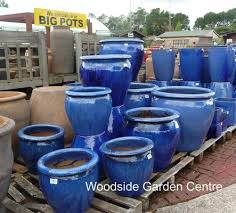 Glazed Ceramic Pots Small Blue Glazed Pots Planters Garden Ideas Pinterest