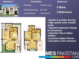 Pakistan House Designs Floor Plans Safari Villas Lahore By Bahria Town