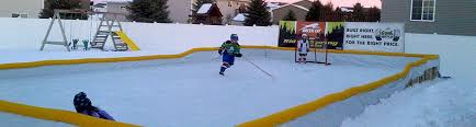 Best Backyard Hockey Rinks Ice Rink Liners Custom Cut Tri Layer Poly Ice Rink Liners