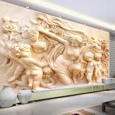 online get cheap 3d wall mural sculptures aliexpress com 3d european style religious sculpture wall mural custom photo wallpaper on the wall 3d wall paper