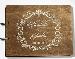 Personalized Wedding Albums Book Custom Wedding Album Etsy