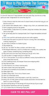 77 ways to play outside this summer melissa u0026 doug blog
