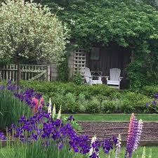 ina garten u0027s backyard looks insanely beautiful gardens ina