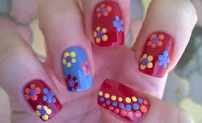 dotted nail art designs image collections nail art designs